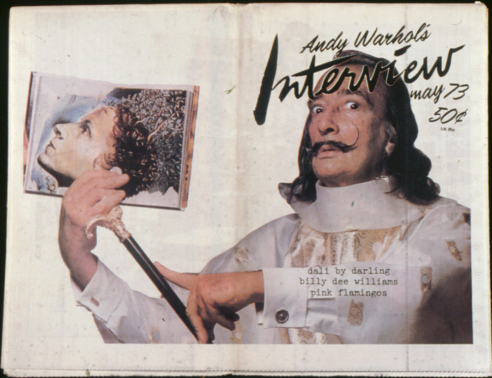 Andy Warhol's Interview Magazine No 32 May 1973, featuring Salvador Dali.